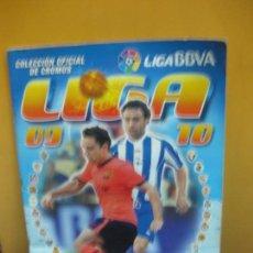 Coleccionismo deportivo: COLECCION OFICIAL DE CROMOS LIGA 2009 - 2010. COLECCIONES ESTE. FALTA 1 CROMO. DE ULTIMOS FICHAJES 9. Lote 126546647