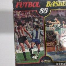 Coleccionismo deportivo: FUTBOL BASKET 85. CON 263 CROMOS. Lote 127011503