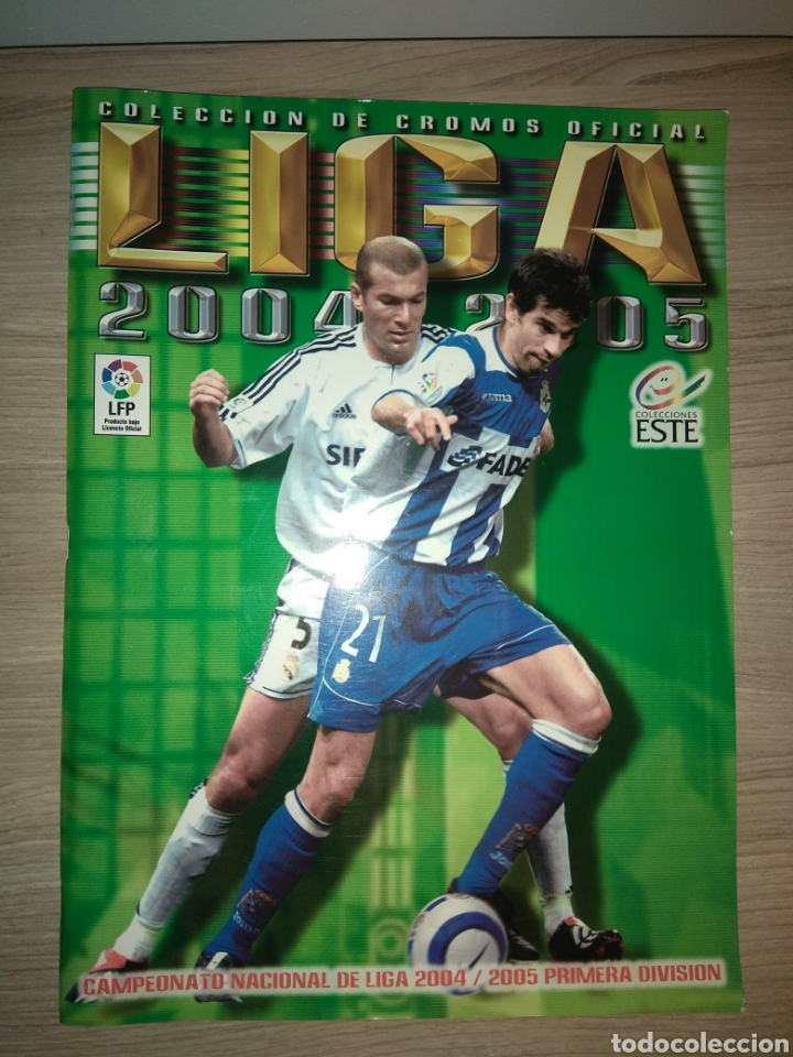 ÁLBUM DE CROMOS FÚTBOL LIGA 2004-2005 04-05, EDICIONES ESTE, INCOMPLETO CON 299-300 CROMOS (Coleccionismo Deportivo - Álbumes y Cromos de Deportes - Álbumes de Fútbol Incompletos)