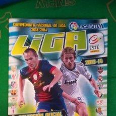 Coleccionismo deportivo: ALBUM LIGA ESTE 2013 2014 13 14 PANINI (410 CROMOS) COMPLETO AL 69%. Lote 127220799