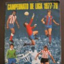 Coleccionismo deportivo: ALBUM CROMOS LIGA DE FUTBOL 1977-1978-DISGRA - FHER -INCOMPLETO-VER FOTOS-(V-14.961). Lote 127239291