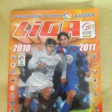 Coleccionismo deportivo: ALBUM. LIGA 2010-2011. COLECCION ESTE. PANINI. LIGA BBVA. INCOMPLETO.. Lote 127239987