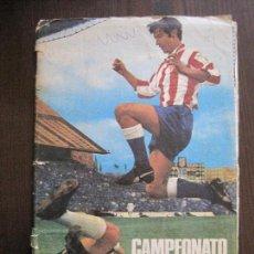 Coleccionismo deportivo: ALBUM CROMOS LIGA DE FUTBOL 1971-1972-DISGRA -INCOMPLETO- FALTAN POCOS CROMOS -VER FOTOS-(V-14.962). Lote 127240475