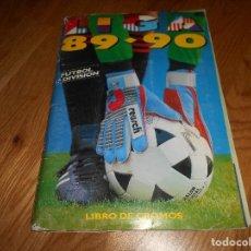 Coleccionismo deportivo: ÁLBUM DE FÚTBOL INCOMPLETO CROMOS SEGUN FOTOS LIGA ESTE 89/90 1989/1990 AUTOGRAFOS. Lote 127241327