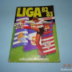 Coleccionismo deportivo: ANTIGUO ALBUM DE FÚTBOL CAMPEONATO DE LIGA 82 - 83 DE EDICIONES ESTE COMPLETO. Lote 127263239
