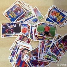 Coleccionismo deportivo: ALBUM CROMOS LIGA 2009-2010, EL BARCA DE LAS SEIS COPAS,F.C. BARCELONA,LOTE DE 87 CROMOS. Lote 127479055