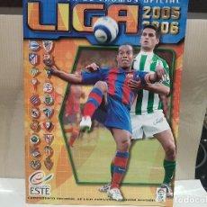 Coleccionismo deportivo: ALBUM FUTBOL LIGA 2005-2006 COLECCIONES ESTE NUEVO SIN CROMOS VER FOTOS. Lote 148839097
