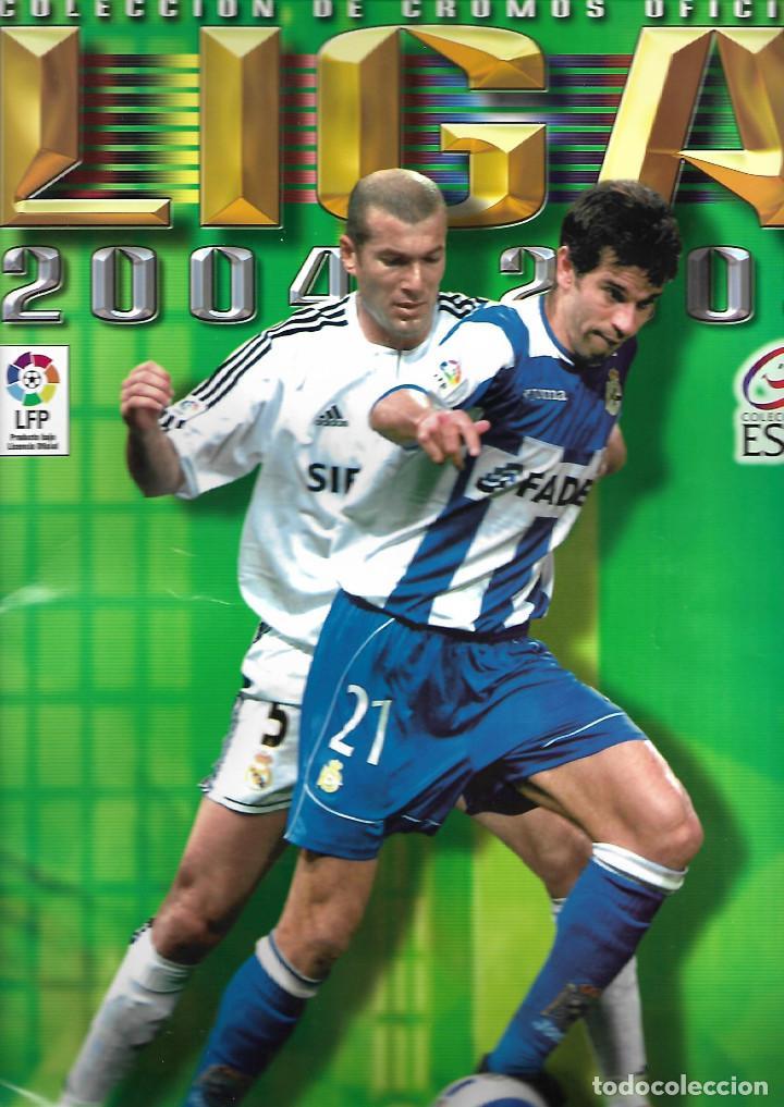 ALBUM LIGA 2004-2005 ESTE NUEVO VACIO MUY BUEN ESTADO (Coleccionismo Deportivo - Álbumes y Cromos de Deportes - Álbumes de Fútbol Incompletos)