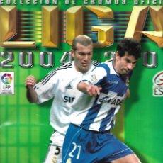 Coleccionismo deportivo: ALBUM LIGA 2004-2005 ESTE NUEVO VACIO MUY BUEN ESTADO. Lote 127554127