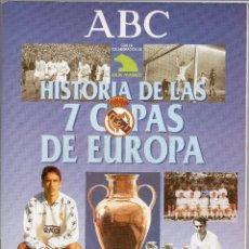 Coleccionismo deportivo: ALBUM HISTORIA DE LAS 7 COPAS DEL REAL MADRID,FALTAN 6 CROMOS. Lote 127616047