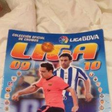 Coleccionismo deportivo: ALBUM DE CROMOS INCOMPLETO - FUTBOL LIGA 2009-2010 - MUY POCOS CROMOS - VER FOTOS. Lote 127632759
