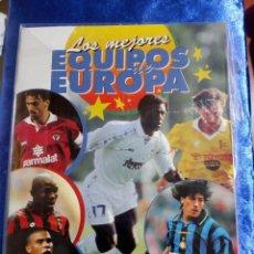 Coleccionismo deportivo: ÁLBUM DE FÚTBOL LOS MEJORES EQUIPOS DE EUROPA 1996. Lote 127870303