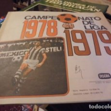 Coleccionismo deportivo: ALBUM VACIO DISGRA LIGA FUTBOL 1978 1979 - SIN LAS CUBIERTAS - ENVIO GRATIS. Lote 127935471