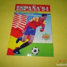 Coleccionismo deportivo: ALBUM DE FUTBOL ESPAÑA'94 DE MC MUNDI CROMO - AÑO 1994. Lote 128294359