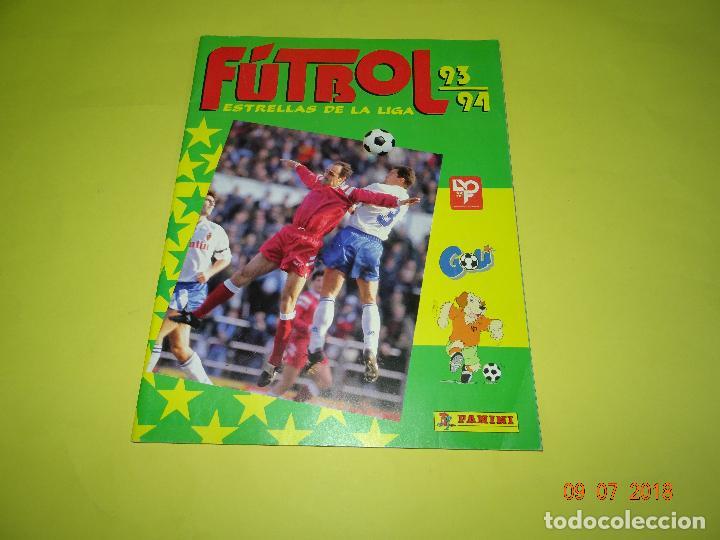 ANTIGUO ÁLBUM PLANCHA DE FUTBOL - ESTRELLAS DE LA LIGA 93-94 DE PANINI (Coleccionismo Deportivo - Álbumes y Cromos de Deportes - Álbumes de Fútbol Incompletos)