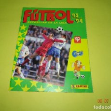 Coleccionismo deportivo: ANTIGUO ÁLBUM PLANCHA DE FUTBOL - ESTRELLAS DE LA LIGA 93-94 DE PANINI. Lote 128295119