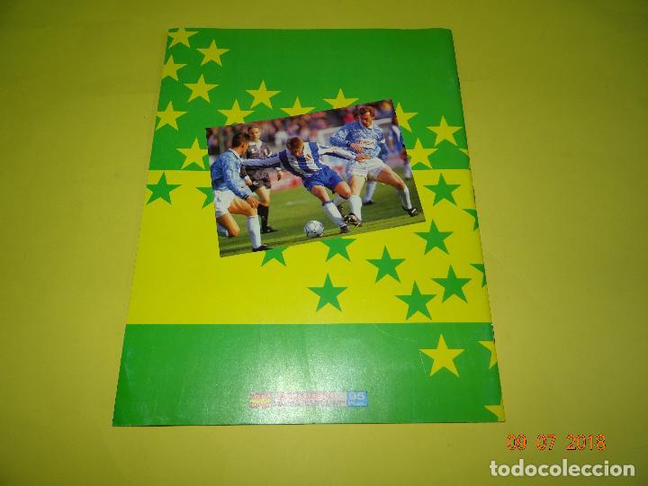 Coleccionismo deportivo: Antiguo Álbum Plancha de Futbol - Estrellas de la Liga 93-94 de PANINI - Foto 4 - 128295119