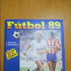 Coleccionismo deportivo: ALBUM DE CROMOS FUTBOL 89 - INCOMPLETO - LA LIGA 1988/1989 - PANINI. Lote 128368683