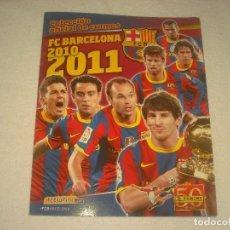 Coleccionismo deportivo: FC BARCELONA 2010 1011. COLECCION OFICIAL DE CROMOS. ALBUM VACIO CON 16 CROMOS DE REGALO SIN PEGAR. Lote 128541787