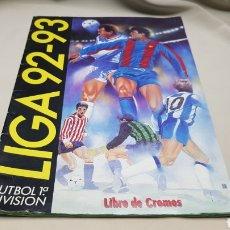 Coleccionismo deportivo: ALBUM DE FUTBOL VACIO CASI PLANCHA, LIGA 92-93 FUTBOL 1 DIVISION. Lote 128613422