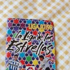 Coleccionismo deportivo: ALBUM CROMOS DEL CHICLE CHICLES LIGA 97/98.FUTBOL CON 160 CROMOS PEGADO. Lote 128765955