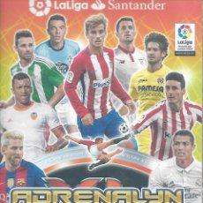 Coleccionismo deportivo: ALBUM DE FUTBOL ADRENALYN 2016/2017 CON 561 FICHAS Y TABLERO DE JUEGO. Lote 128961379