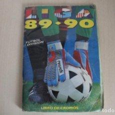 Coleccionismo deportivo: ESTE 89 90 ÁLBUM INCOMPLETO CON 398 CROMOS. Lote 129009443