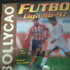 Coleccionismo deportivo: ALBUM BOLLYCAO LIGA 96/97 A FALTA DE 4 CROMOS. Lote 129021399