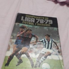 Coleccionismo deportivo: INCREIBLE ALBUM 1978-79 ESTE. Lote 129314595
