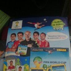 Coleccionismo deportivo: BLISTER REVISTA JUGON ÁLBUM MÁS 10 SOBRES MUNDIAL DE BRASIL 2014 PRECINTADO. Lote 129565570