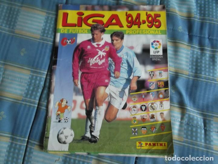 ALBUM PANINI 94-95 (Coleccionismo Deportivo - Álbumes y Cromos de Deportes - Álbumes de Fútbol Incompletos)