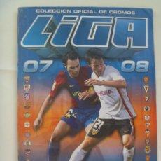Coleccionismo deportivo: ALBUM DE CROMOS DE FUTBOL , LIGA 2007- 2008 . EDICIONES ESTE . CASI COMPLETO. Lote 129737551