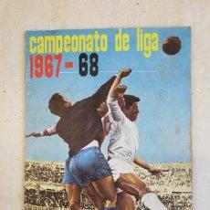 Coleccionismo deportivo: ALBUM CROMOS CAMPEONATO DE LIGA 1867-68 (FALTAN 3 CROMOS DE ESCUDOS). Lote 33806682