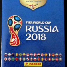 Coleccionismo deportivo: ALBUM VACIO PLANCHA PANINI MUNDIAL FUTBOL RUSIA 2018 RUSSIA FIFA FOOTBALL WORLD CUP. Lote 130026675