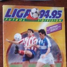 Coleccionismo deportivo: 94-95, 95-96, 98-99, 04-05, 05-06, 06-07, 07-08, 08-09, 8 ALBUNES ESTE. Lote 130048983
