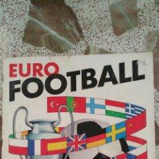 Coleccionismo deportivo: ALBUM EURO FOOTBALL PANINI (1976) A FALTA DE 16 CROMOS. Lote 130088346