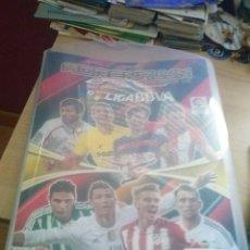 Coleccionismo deportivo: ARCHIVADOR ADRENALYN LIGA 2015-2016 CON MAS DE 200 CROMOS. Lote 130165051