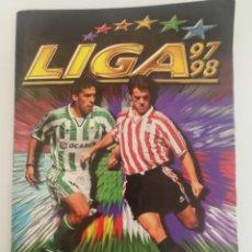 Coleccionismo deportivo: ALBUM LIGA ESTE 97 98 MUY COMPLETO CON ACUÑA ANDRE LUIZ BRUNO CAIRES. Lote 130327502