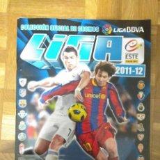 Coleccionismo deportivo: ALBUM FÚTBOL EDICIONES ESTE TEMPORADA 2011-2012, CON 322 CROMOS EN BUEN ESTADO. Lote 45618912