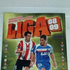 Coleccionismo deportivo: ALBUM CROMOS, LIGA 08-09, 2008-2009, FUTBOL, ESTE, TIENE 292 CROMOS,. Lote 130599234