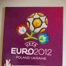 Coleccionismo deportivo: ÁLBUM UEFA EURO 2012 VACÍO. Lote 130612340
