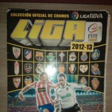 Coleccionismo deportivo: ÁLBUM LIGA 2012-2013, 12-13, EDICIONES ESTE CON 323 CROMOS, EN ESTADO ACEPTABLE. Lote 130942775