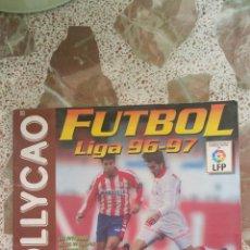 Coleccionismo deportivo: ALBUM CROMOS FÚTBOL LIGA 96 97 BOLLYCAO INCOMPLETO. Lote 130977599