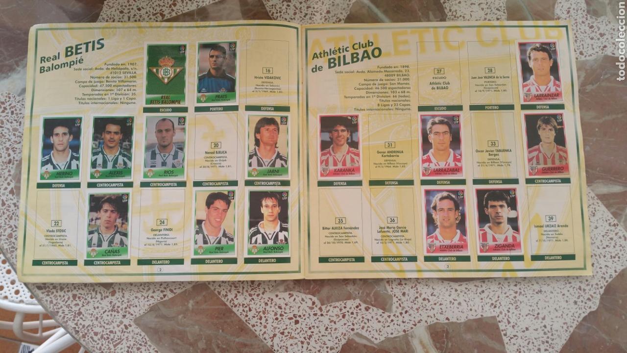 Coleccionismo deportivo: Album cromos fútbol liga 96 97 bollycao incompleto - Foto 3 - 130977599