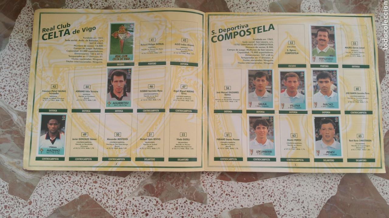 Coleccionismo deportivo: Album cromos fútbol liga 96 97 bollycao incompleto - Foto 4 - 130977599
