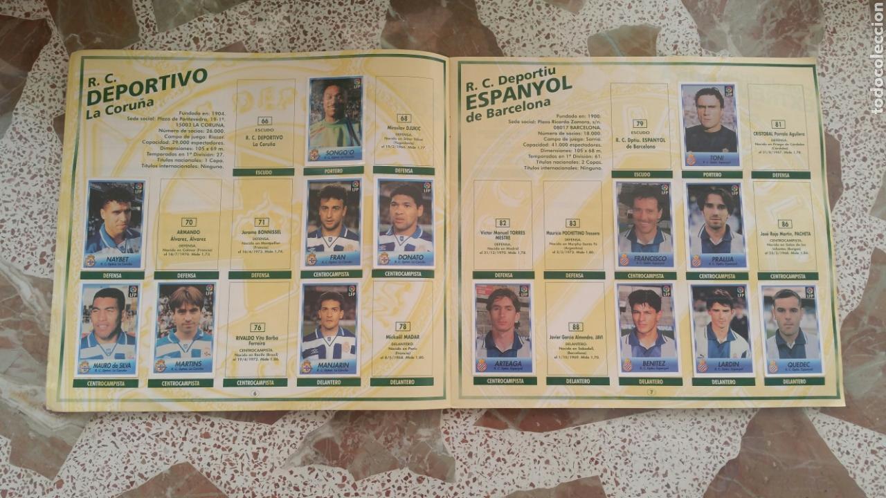 Coleccionismo deportivo: Album cromos fútbol liga 96 97 bollycao incompleto - Foto 5 - 130977599