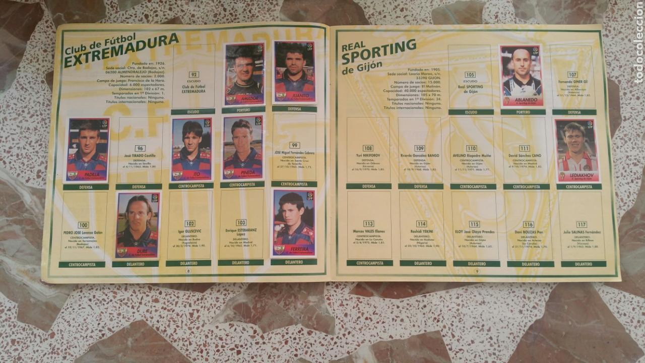Coleccionismo deportivo: Album cromos fútbol liga 96 97 bollycao incompleto - Foto 6 - 130977599