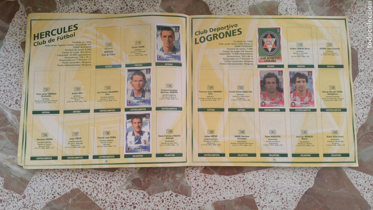 Coleccionismo deportivo: Album cromos fútbol liga 96 97 bollycao incompleto - Foto 7 - 130977599