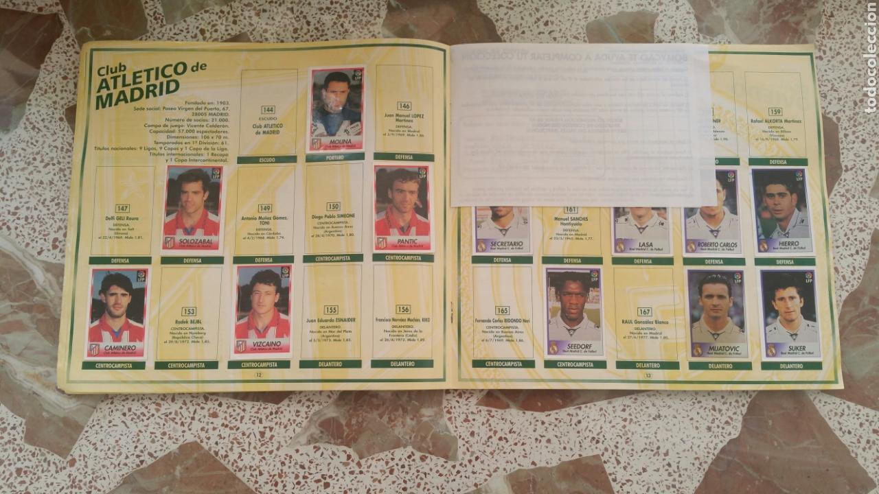 Coleccionismo deportivo: Album cromos fútbol liga 96 97 bollycao incompleto - Foto 8 - 130977599