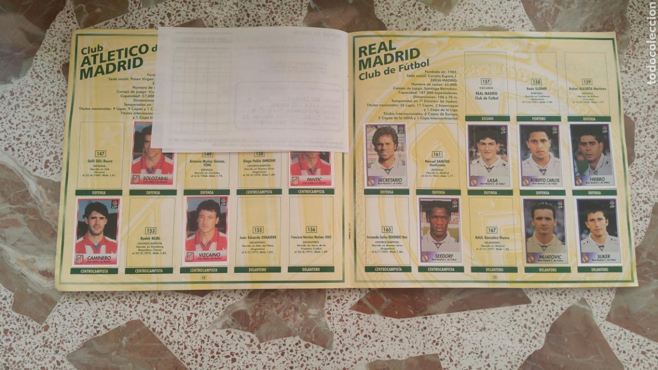 Coleccionismo deportivo: Album cromos fútbol liga 96 97 bollycao incompleto - Foto 9 - 130977599